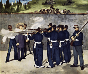 Édouard Manet - Execution of the Emperor Maximilian